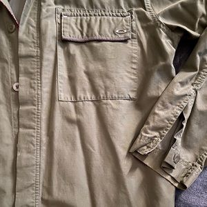 Oakley Army Fatigue Long Sleeve Button Down